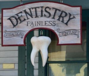 signs of a bad dentist - old technology